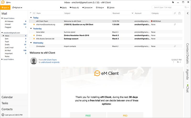 gestores-de-correo-emclient-screenshot