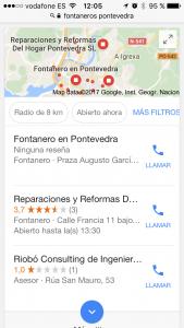 seo local resultdos II
